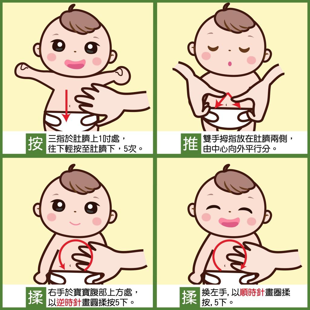 安撫寶寶腸絞痛的舒緩方式